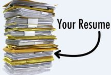 Resumes and Cover letters / Create the resume that will land your dream job.