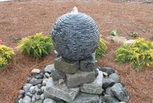 Water Features / Cedar Run Landscapes creates a wide range of water feature options