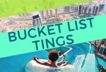 Travel Bucket List. / I haven't been everywhere yet, but it's on my list | Discover more. | You can have the world; it's up for grabs. | Once you travel the world, you ain't returning the same.