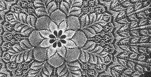 pizzi a maglia - chiacchierino - crochet irlandese e rumeno -