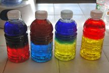 Bottle crafts with children