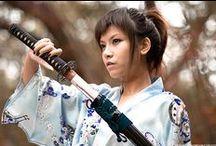 Katana girl (Samurai, Ninja, Shinobi)