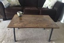Coffee Tables / American Handmade Coffe Tables and not only... www.etsy.com/shop/blackironworks