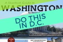 Washington DC | Be A Tourist in Your Own City / I LOVE DC! Sometimes we forget to embrace what's right in our backyard, this great city that millions of visitors flock to each year. Let's take some time to be a tourist right here in the District. Here's where you can explore the DMV's gems.