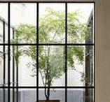 interior | exterior / architecture, design, interior design, exteriors, glass extensions, modern homes, contemporary living space.