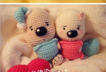 Amigurumi - toys - softies / by Audry Uzcategui