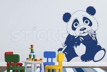 Stickere de perete pentru camera copilului