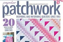 The Front Cover / Latest covers of Popular Patchwork Magazine