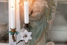 I'm dreaming of....Christmas / Christmas- french/ scandinavian vintage style.