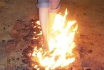 """Fire Walking / Fire walking is """"a method of overcoming limiting beliefs, phobias and fears"""" and will help to improve focus and promote advanced critical thinking skills for your entire organization."""