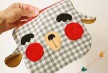 patchwork - quilting - bag - luchbag - pillows - / by Audry Uzcategui