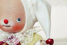 Ручная работа: Кукляшки, игрушки...
