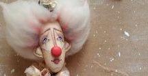 Чудесница из Чудесатии. Мое рукотворчество. / Текстильные куклы в моем исполнении.