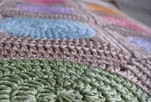 Baby blankets. / Beautiful knitted and crocheted baby blankets. Lovely, colorful and full of love.