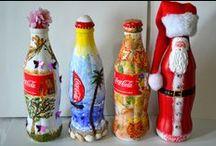 Coca Cola & Pepsi Cola (alphabetical positioned) :D / Spring. Summer. Autumn. Winter.  Always Coca-Cola :)  Have a light, a tea light, and a ... Pepsi-Coca-Cola :D