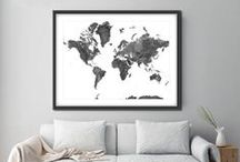 Our World / Posts and maps of our beautiful home.