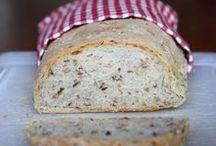 Mine opskrifter - Brød og div. bagværk