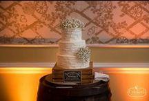 Textured Wedding Cakes / Textured Buttercream Wedding Cakes