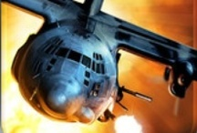 Zombie Gunship / Zombie Gunship™ puts you in the gunner seat of a heavily-armed AC-130 ground attack aircraft. Strategically fire your powerful guns to slay endless waves of zombies and protect the remaining survivors of the Zombie Apocalypse!