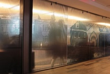 Clear Printable Window Film / Stunning designs brought to life through printable window film. Step up your glass game.
