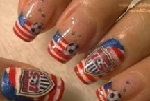 Soccer Nails / Show your love of the game with these creative manicure and pedicure ideas! / by Soccer605