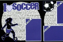 Soccer Crafts - Scrapbooks & Cards / Scrapbook and handmade card ideas / by Soccer605