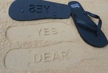Custom Flip-Flop Designs / Our favorite custom flip-flop designs, straight from our manufacturing floor to your computer! Get inspired by these awesome ideas for sand imprint flip-flops, and give us YOUR ideas to put up here!