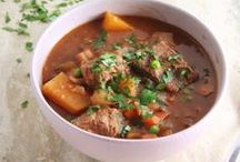 Hearty Stews, Soups & Chilis! / What better way to warm up your insides than a nice, hearty stew!