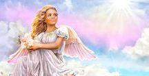 Angels / Angels, archangels, guardian angels, vintage, pop culture, I love angels! x