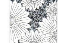 Zentangles patterns / doodles