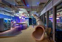 Flexas.nl | Kantoren met glijbanen / Offices that have installed a slide!