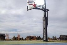 Basketball Hoops / Indoor and outdoor basketball goals to suit your needs, budget and landscape.  Indoor, outdoor, wall mounts, portables and ceiling mounts. www.fullcourtathletics.com
