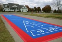 Make your home fun for the family / Full Court Athletics of Montana can make your home fun and more attractive with athletic surfaces and equipment