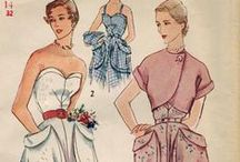 50s sewing patterns / by ksenija seci