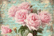 Róże / Róże decoupage