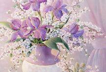 Kwiaty / Kwiaty inne, decoupage