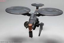 Futuristic, concept Drones / Futuristic, Concept Drones