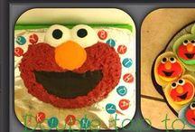 Elmo Cake / Fondant Cake