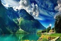 Somewhere oVer the raiNbow.. / Place - beauty - mysterious - sea - holiday - relax - blue - green   / by Burcu Eda Cicek