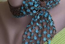 Bead embroidery / Inspiratie :)