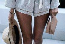 Summer Holiday Fashion / Salt water heals everything