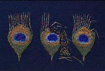 Bead Embroidery Made by Me / sieraden die ik zelf heb gemaakt !
