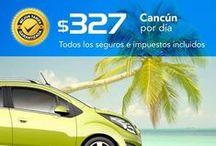 Ofertas en renta de autos / Las mejores tarifas todo incluído.