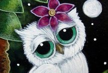 Owls:  Printables / All things owl - printables, party ideas & gift boxes