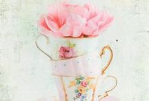 Printables:  Teacups, coffee & general tea time / Artwork & illustrations for all things pertaining to tea time, coffee