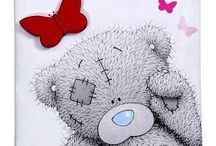 Printables:  Tatty Teddy & friends / Illustrations of Tatty Teddy, and related pins