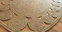 Jute Addict / hand crafted by jute, hemp, rope