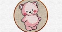 For Baby / baby crochet, baby cross stitch, baby sew, baby food