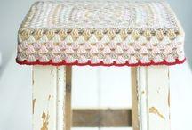 Crochet & knitting & yarn / Szydełkiem i na drutach