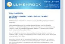 Lumenrock Newsletters / Our newsletter will include articles on accounting and auditing, insurance, taxation or just some general financial news.